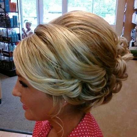 Short To Medium Length Bob Bridal Hairstyle | Short Hairstyles 2017 With Wedding Hairstyles For Short To Medium Length Hair (View 4 of 15)