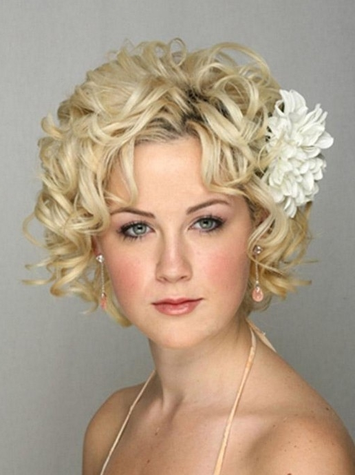 Short Wedding Hairstyle Ideas – 22 Bridal Short Haircuts – Pretty Within Wedding Hairstyles For Short Blonde Hair (View 8 of 15)