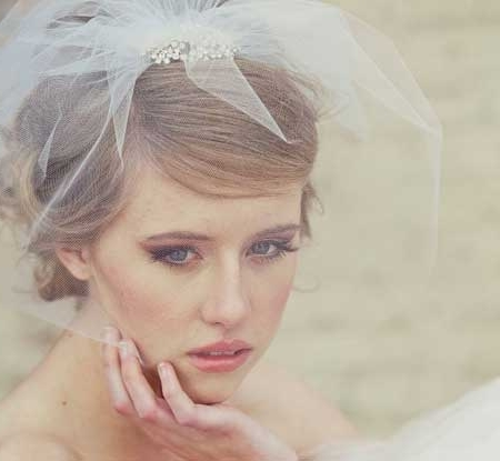 Short Wedding Hairstyles For 2013 | Short Hairstyles 2017 – 2018 Inside Bridal Hairstyles For Short Length Hair With Veil (View 7 of 15)