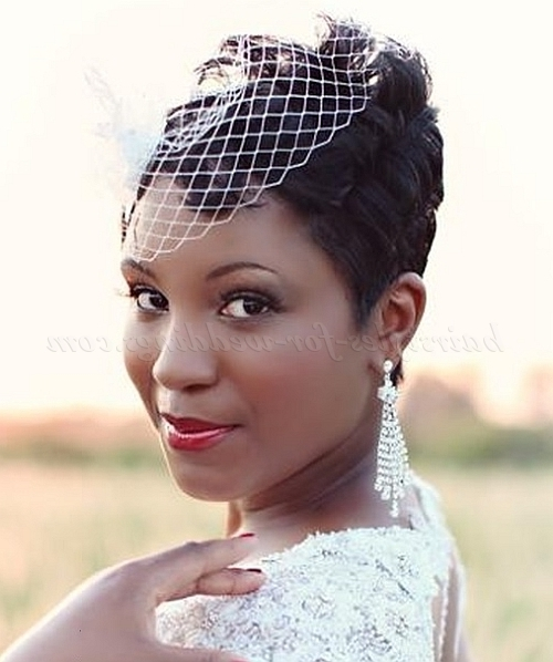Featured Photo of Bridal Hairstyles For Short Afro Hair