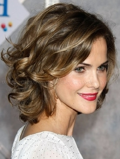 Shoulder Length Wavy Hairstyles – Shoulder Length Wavy Hairstyle In Wedding Hairstyles For Shoulder Length Wavy Hair (View 7 of 15)