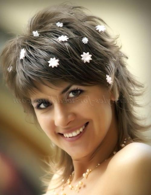 Shoulder Length Wedding Hairstyles – Medium Length Bridal Hairstyle In Wedding Hairstyles With Medium Length Hair (View 15 of 15)