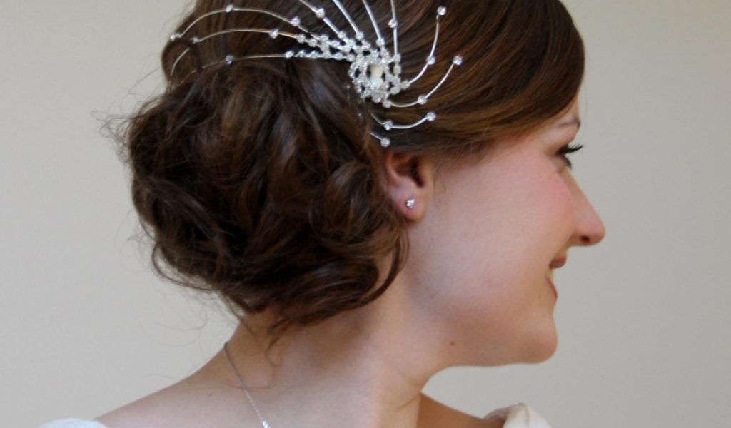 Side Bun Hairstyles For Wedding – Hairstyles Inspiring With Regard To Norwich Wedding Hairstyles (View 2 of 15)
