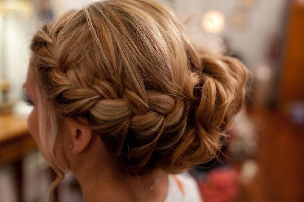 Side Bun Hairstyles | Hair Bun Stepstep | Side Bun Updo – Metromela With Plaits Bun Wedding Hairstyles (View 15 of 15)