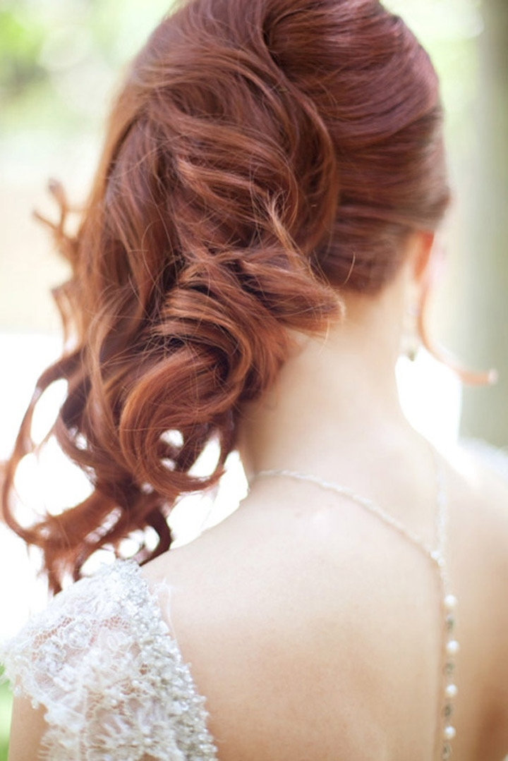 Side Swept Wedding Hairstyles To Inspire – Mon Cheri Bridals With Wedding Hairstyles For Long Hair With Side Swept (View 12 of 15)
