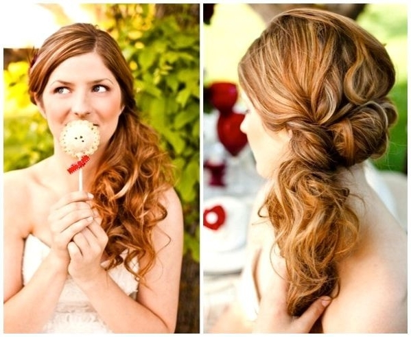 Featured Photo of Off To The Side Wedding Hairstyles