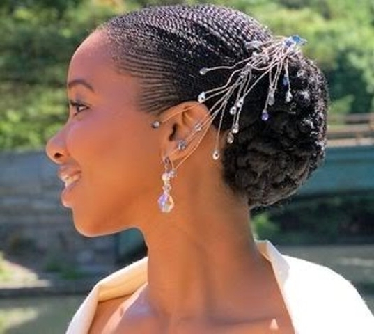 Simple But Beautiful Wedding Braids! Makes Your Day Shine! – | Poontoe For African Wedding Braids Hairstyles (View 11 of 15)