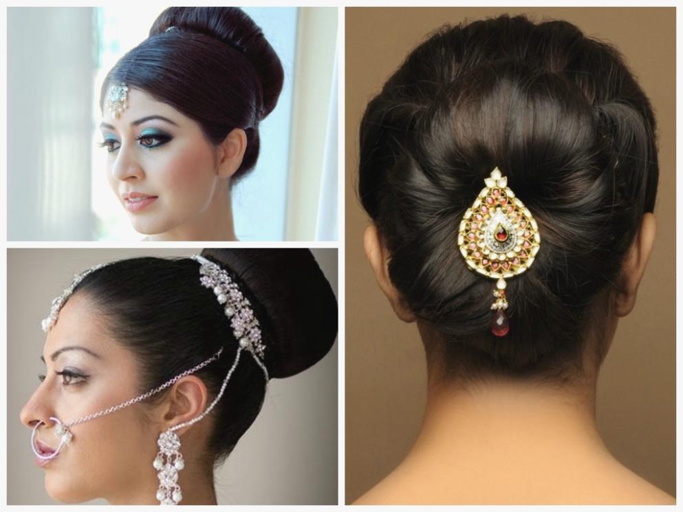 Simple Hair Updos For Medium Length Indian Wedding Hairstyle 12Th For Simple Indian Wedding Hairstyles For Medium Length Hair (View 7 of 15)