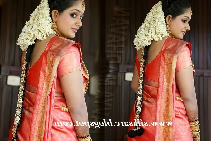 Simple Hairstyle Stepstep: Simple Hair Style For Long Hair Kerala Inside Kerala Wedding Hairstyles For Long Hair (View 2 of 15)