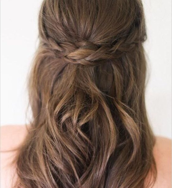 Simple Hairstyles For Long Hair Wedding : Best Hairstyles In 2018 Within Half Up Half Down Wedding Hairstyles For Long Hair (View 5 of 15)