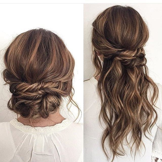 Simple Wedding Hairstyles Best Photos – Wedding Hairstyles Intended For Simple Wedding Hairstyles (View 11 of 15)