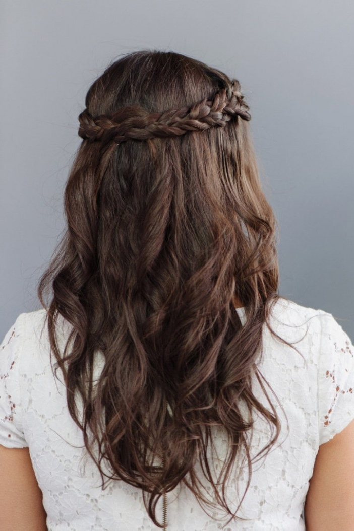 Simple Wedding Hairstyles Long Hairstyles : S 14531 | Fashion Trends Within Simple Wedding Hairstyles (View 13 of 15)