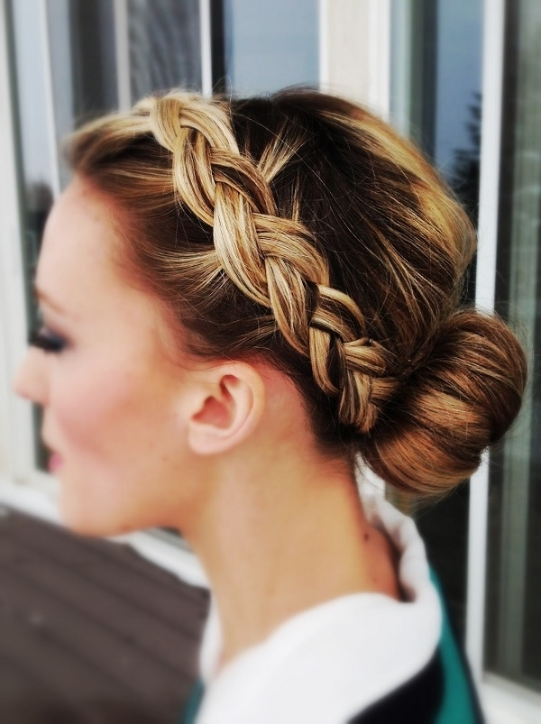 Simple Yet Sophisticated Wedding Hairstyles For Bridesmaids Throughout Wedding Hairstyles For Bridesmaids (View 14 of 15)