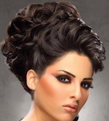 Stunning Arabic Bridal Hairstyles! Regarding Arabic Wedding Hairstyles (View 12 of 15)