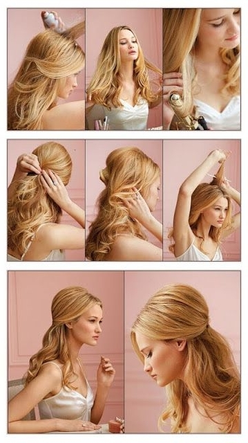 Stunning Do It Yourself Hairstyles Pictures – Styles & Ideas 2018 With Wedding Hairstyles That You Can Do Yourself (View 7 of 15)
