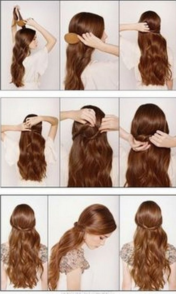 Stunning Easy Hairstyles To Do On Yourself Ideas Cute You Can For Intended For Wedding Hairstyles That You Can Do Yourself (View 11 of 15)