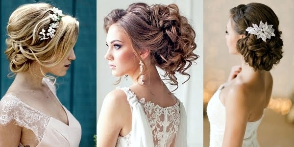 Stunning Romantic Bridal Hairstyles! In Wedding Hairstyles For Long Romantic Hair (View 9 of 15)