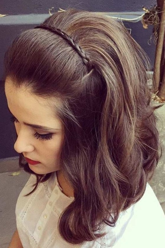 Stunning Wedding Guest Hairstyles For Short Hair Gallery – Styles In Cute Wedding Guest Hairstyles For Short Hair (View 12 of 15)