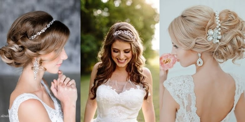 Stunning Wedding Hairstyles With Headbands! In Wedding Hairstyles With Headband (View 9 of 15)
