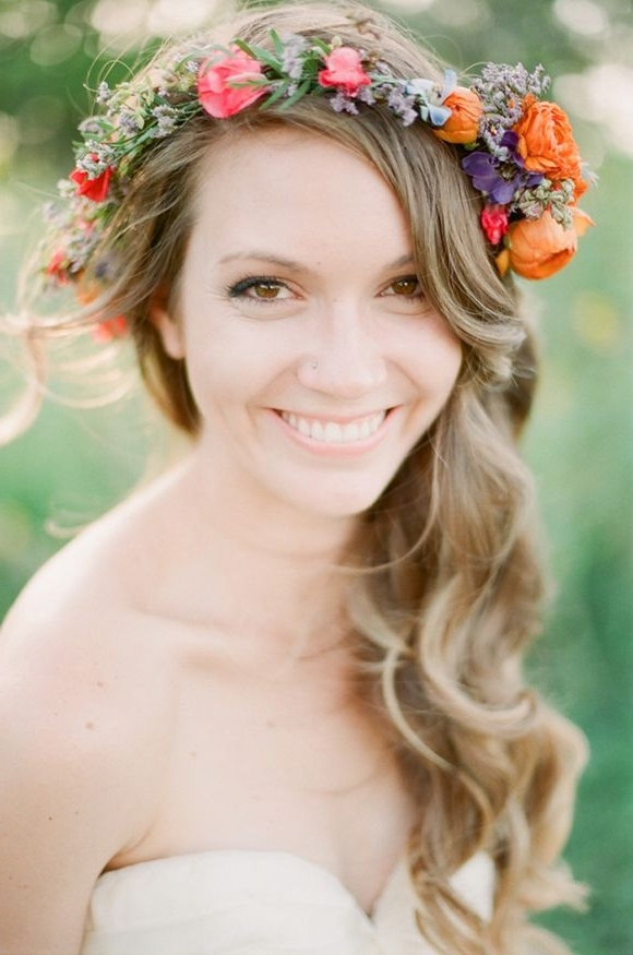 Style Trend: Floral Jewellery Edmonton – Invogue Weddings And Events Inside Edmonton Wedding Hairstyles (View 12 of 15)