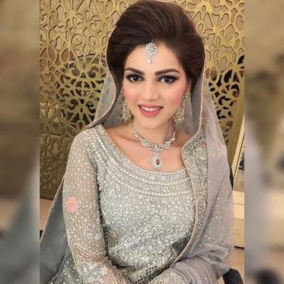 Stylish And Trendy Pakistani Bridal Wedding Hairstyle With Regard To Pakistani Wedding Hairstyles (View 13 of 15)