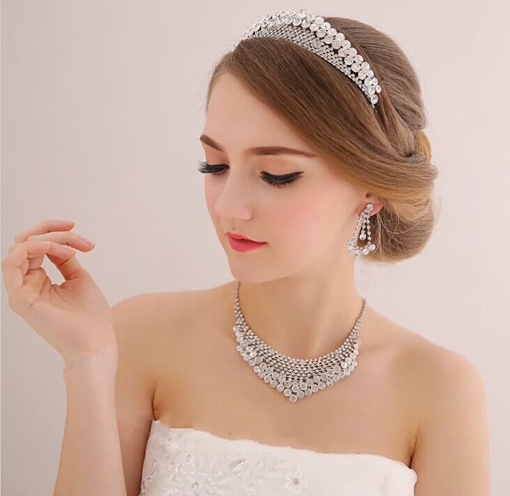 Stylish Wedding Hair Crown For A Queen Hairstyle On Your Wedding Day For Wedding Hairstyles With Crown (View 9 of 15)