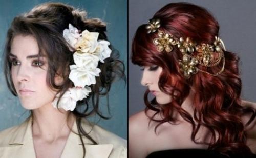 Stylish Western Wedding Bridal Hairstyles For 2015 For Brides And Within Wedding Night Hairstyles (View 5 of 15)