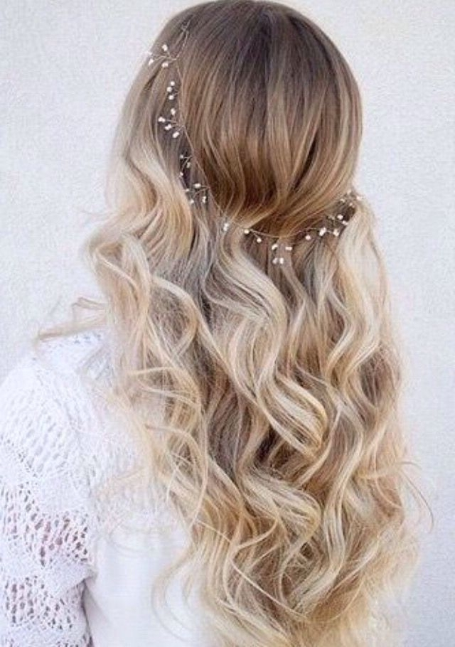 Sweet 16 Hair Idea Simple And Sweet | H A I R S T Y L E S With Wedding Hairstyles For Long Blonde Hair (View 8 of 15)
