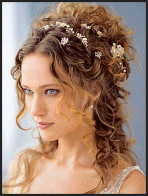 Tess Daily: Naturally Curly Wedding Hairstyles Wedding Hairstyles With Regard To Wedding Hairstyles For Long Natural Curly Hair (View 6 of 15)