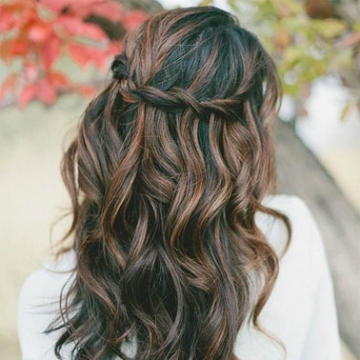 The 10 Best Half Up, Half Down Wedding Hairstyles | Stylecaster For Wedding Hairstyles With Long Hair Down (View 11 of 15)