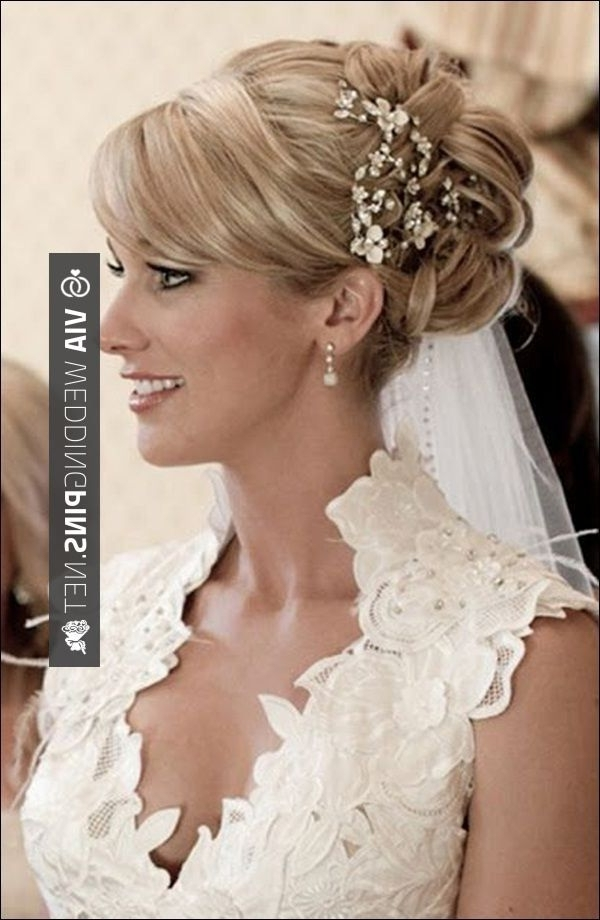 Showing Gallery Of High Updos Wedding Hairstyles View 14 Of 15 Photos