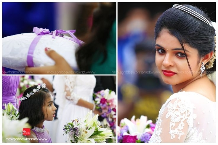 The 53 Best Mallu's Christian Weddings Images On Pinterest | The Intended For Wedding Hairstyles For Kerala Christian Brides (View 15 of 15)