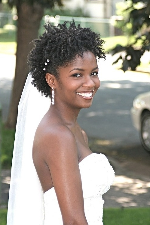 The 578 Best Wedding Hairstyles | Locs, Braids & Twists Images On Inside Wedding Hairstyles For Short Natural Black Hair (View 12 of 15)