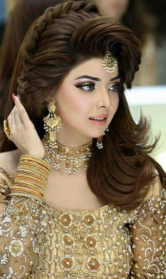 The 72 Best Kashee's Makeup Images On Pinterest | Kashees Hairstyle With Pakistani Wedding Hairstyles (View 15 of 15)