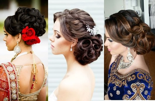 The Best And The Worst Indian Wedding Hairstyles   Indian Fashion Blog Intended For Indian Bun Wedding Hairstyles (View 15 of 15)