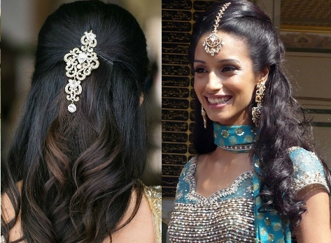 The Best And The Worst Indian Wedding Hairstyles | Indian Fashion Blog Within Indian Wedding Hairstyles (View 11 of 15)