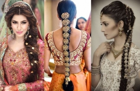 The Best And The Worst Indian Wedding Hairstyles | Indian Fashion Within Braided Hairstyles For Long Hair Indian Wedding (View 5 of 15)