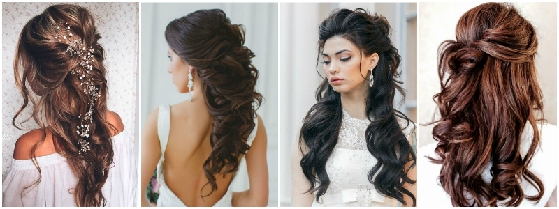 The Best Wedding Hairstyles That Will Leave A Lasting Impression Intended For Wedding Hairstyles For Long Hair Pulled To The Side (View 9 of 15)