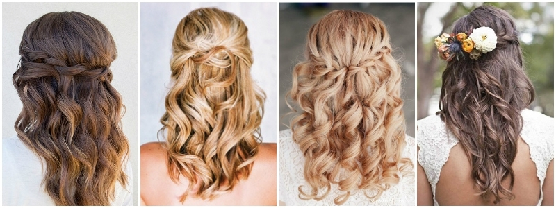Featured Photo of Wedding Hairstyles Down For Medium Length Hair