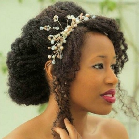 The Greatest Advantages Of Natural Wedding Hairstyles With Wedding Hairstyles For Natural Hair (View 15 of 15)