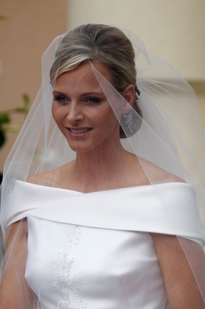 The Royal Order Of Sartorial Splendor: The Prince And Princess Of Throughout Wedding Hairstyles With Veil Over Face (View 7 of 15)