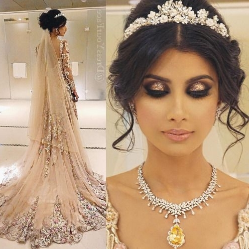 Thebrowngirlguide: Makeup + Hair: Dressyourface | Makeup | Pinterest Regarding Asian Wedding Hairstyles (View 13 of 15)