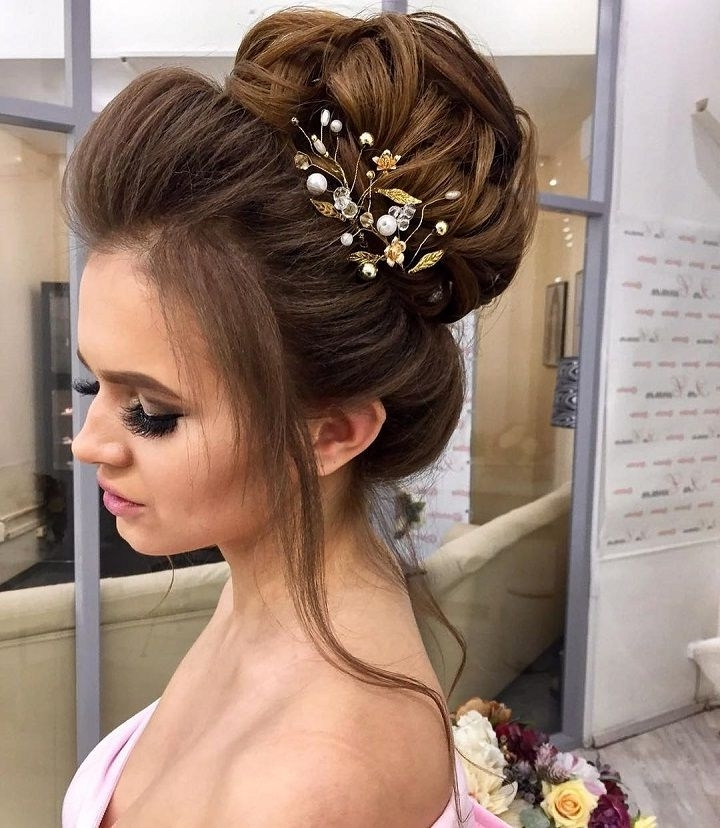 This Breathtaking High Updo Hairstyle You Can Wear Anywhere | High For High Updos Wedding Hairstyles (View 10 of 15)