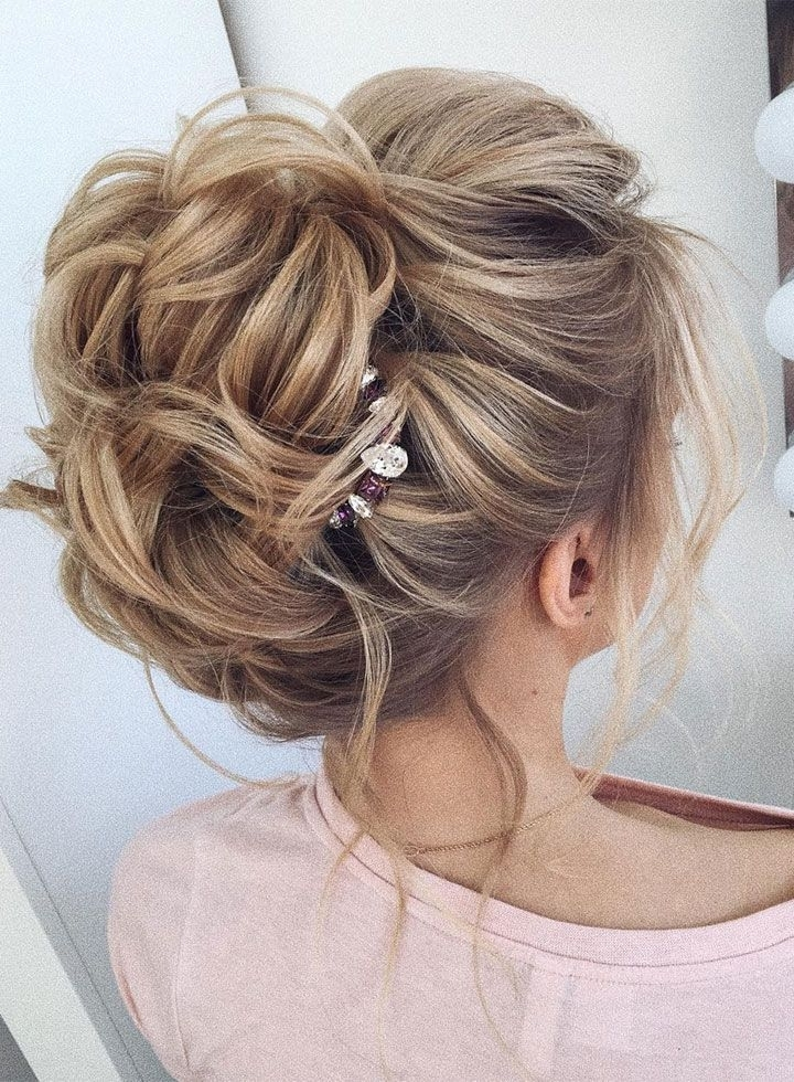 This Gorgeous Wedding Hair Updo Hairstyle Idea Will Inspire You For Hair Up Wedding Hairstyles (View 6 of 15)