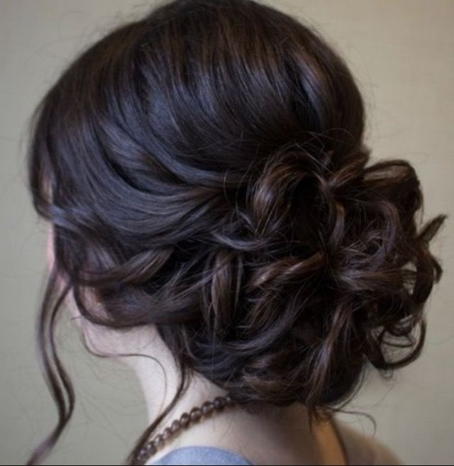 This Is A Prom Look, But Reallyyou Could Use This For Any Special With Medium Length Straight Hair Wedding Hairstyles (View 6 of 15)