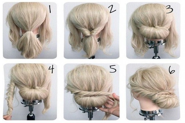 This Is How Diy Bridal Hairstyles For Short | Webshop Nature Within Easy Bridal Hairstyles For Short Hair (View 3 of 15)