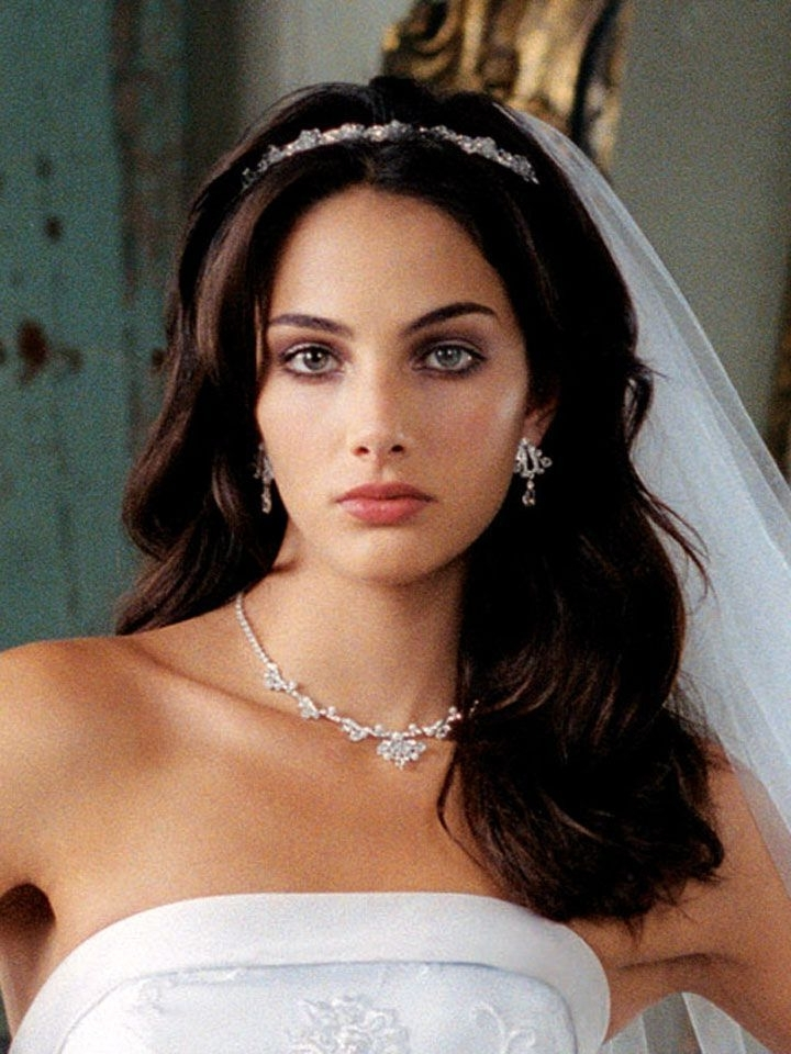 Tiara And Veil | Hair Down With Tiara And Veil | Wedding Things Pertaining To Wedding Hairstyles Down With Tiara (View 12 of 15)