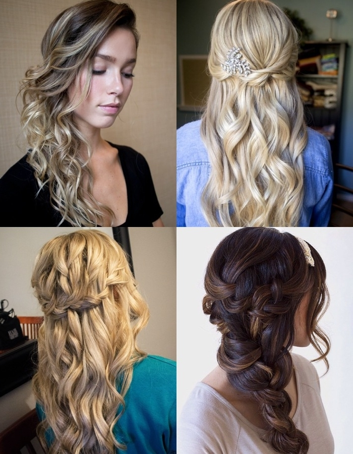 Today's Most Popular Wedding Hairstyles | Boxed Wedding Invitations Intended For Wedding Hairstyles For Long Hair Pulled To The Side (View 11 of 15)