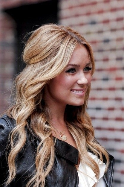 Top 30 Lauren Conrad Hairstyles | Natural Wedding Hairstyles, Long Throughout Wedding Hairstyles For Long Loose Curls Hair (View 12 of 15)