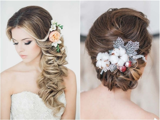 Top 30 Long Wedding Hairstyles For Bride From Art4Studio   Deer Pertaining To Long Wedding Hairstyles (View 4 of 15)